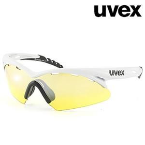 Pro White UVEX Crow sunglasses